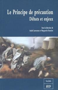 Deedr.fr Le Principe de précaution - Débats et enjeux ; Colloque de Dijon, 4 juin 2004, Université de Bourgogne, Programme Recherche et Environnement Image