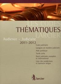 Larcier - Audience - Judiciaire.
