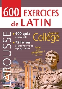 Larousse - 800 exercices de latin.