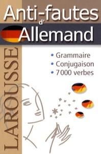Larousse - Anti-fautes d'Allemand.