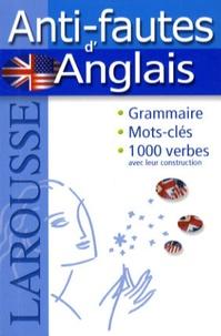 Larousse - Anti-fautes d'Anglais.