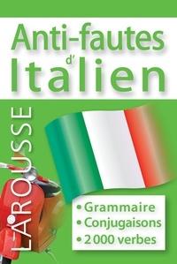 Larousse - Anti-fautes d'italien.