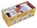 Larousse - Coffret Mon petit mug à décorer - Contient : 1 mug, 1 feutre spécial porcelaine, 1 livret avec 40 modèles de dessins.