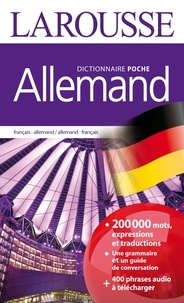 Larousse - Dictionnaire de poche français-allemand et allemand-français.