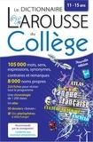 Larousse - Dictionnaire du collège.
