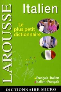 Larousse - Dictionnaire français-italien ; italien-français.
