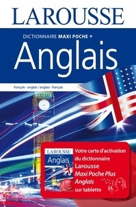 Histoiresdenlire.be Dictionnaire Larousse maxipoche plus français-anglais / anglais-français - Avec carte d'activation sur tablette Image