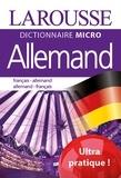 Larousse - Dictionnaire micro Allemand - Français-Allemand Allemand-Français.