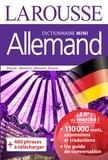 Larousse - Dictionnaire mini français-allemand et allemand-français.