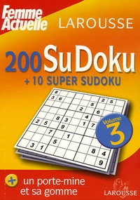 Histoiresdenlire.be 200 SuDoku + 10 super Sudoku - Volume 3 Image