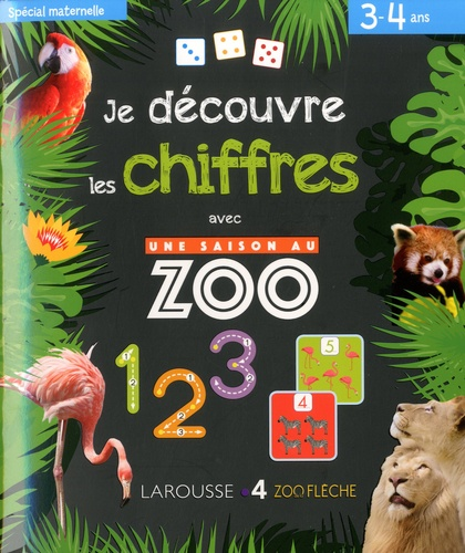 Je Decouvre Les Chiffres Avec Une Saison Au Zoo Grand Format