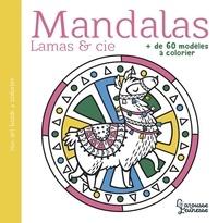 Larousse jeunesse - Mandalas Lamas & cie - + de 60 modèles à colorier.