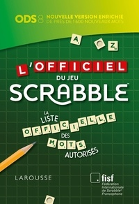 L'officiel du jeu Scrabble -  Larousse pdf epub