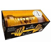 Larousse - La bière, ça dés-haltère ! - Coffret avec 1 verre et 1 livre.