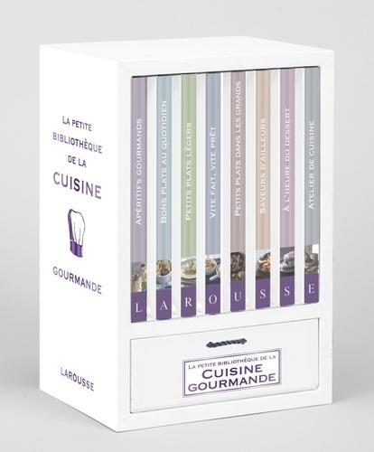 La Petite Bibliotheque De La Cuisine Gourmande 8 Livres 1 Carnet De Recettes