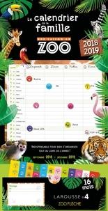 Deedr.fr Le calendrier familial Une saison au zoo - Avec 1 stylo, 8 magnets autocollants, 240 stickers, 1 bloc-note, 1 pochette Image
