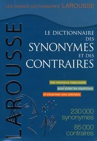 Larousse - Le dictionnaire des synonymes et des contraires.