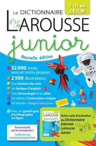 Le dictionnaire Larousse junior CE/CM