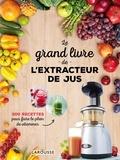 Larousse - Le grand livre de l'extracteur de jus - 300 recettes pour faire le plein de vitamines.