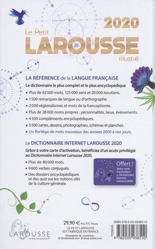 Le Petit Larousse illustré  Edition 2020