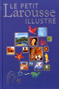 Larousse - Le Petit Larousse illustré - Offert en récompense scolaire.