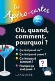 Larousse - Les apéro-cartes : Où, quand, comment, pourquoi ?.