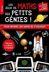 Télécharger des livres free kindle fire Les jeux de maths des petits génies !  - Du CE2 au CM1 (French Edition) 9782035972552 MOBI ePub CHM