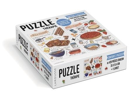 Les recettes sucrées de Billie Blake. Contient 2 puzzles de 420 pièces chacun et un livret