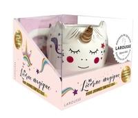 Larousse - Ma licorne magique pour journée fantastique - Mon carnet magique, petites astuces et recettes pour se faire du bien. Avec 1 mug.