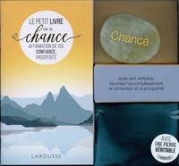 Larousse - Ma petite pierre de chance - Affirmation de soi, confiance, prospérité. Avec une pierre de jade vert.