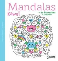 Larousse - Mandalas kawaï - + de 60 modèles à colorier.