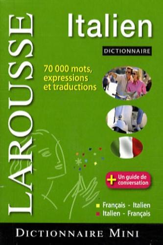 Larousse - Mini dictionnaire français-italien/italien-français.