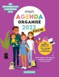 Larousse - Mon agenda organisé poche - De septembre 2021 à décembre 2022.