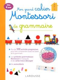 Checkpointfrance.fr Mon grand cahier Montessori de grammaire Image