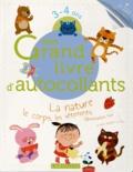 Larousse - Mon grand livre d'autocollants 3-4 ans - La nature, le corps, les vêtements, l'alimentation, Noël et plein d'univers à coller....
