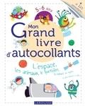 Larousse - Mon grand livre d'autocollants 5-6 ans - L'espace, les animaux, le quotidien, la nature, les objets, et plein d'univers à coller....