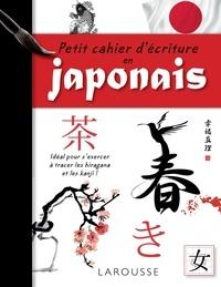 Larousse - Petit cahier d'écriture en japonais.