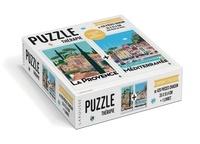 Larousse - Plein Sud avec Monsieur Z - Contient 2 puzzles de 420 pièces chacun.