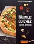 Larousse - Recettes inratables quiches, tartes & pizzas.