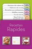 Larousse - Recettes rapides.
