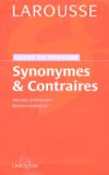 Larousse - Synonymes & contraires.
