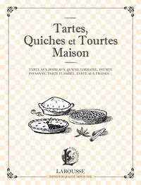 Histoiresdenlire.be Tartes, quiches et tourtes maison - Tarte aux poireaux, quiche lorraine, tourte paysanne, tarte flambée, tarte aux fraises... Image