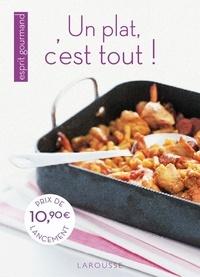 Larousse - Un plat, c'est tout !.