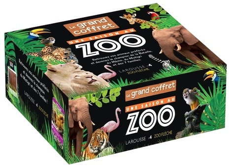 Une Saison Au Zoo Le Grand Coffret Grand Format