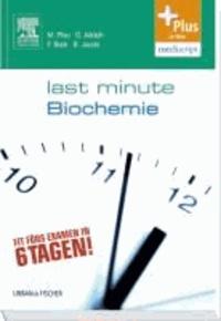 Last Minute Biochemie - mit Zugang zur mediscript Lernwelt.