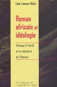 Alixetmika.fr Roman africain et idéologie - Tchicaya U Tam'Si et la réécriture de l'Histoire Image
