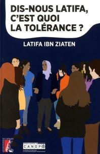 Latifa Ibn Ziaten - Dis-nous Latifa, c'est quoi la tolérance ?.