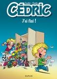 Laudec et Raoul Cauvin - Cédric  : J'ai fini ! - Opé l'été BD 2019.