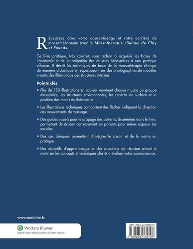 Massothérapie clinique. Anatomie et traitement 3e édition