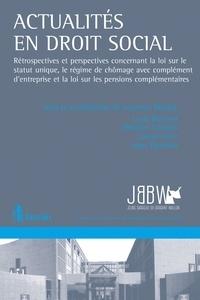 Actualités en droit social - Laura Bertrand pdf epub